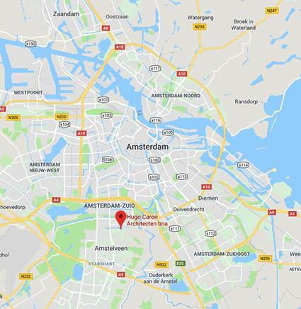 Architectenbureau contact, Amsterdam